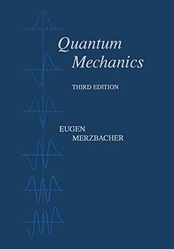 9780471887027: Quantum Mechanics (Physics)