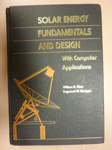 9780471887188: Solar Energy Fundamentals and Design: With Computer Applications (Alternate Energy Series)