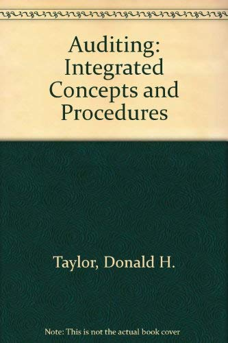 9780471887218: Auditing: Integrated Concepts and Procedures