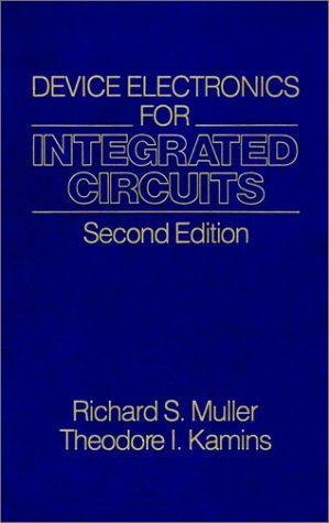 9780471887584: Device Electronics for Integrated Circuits
