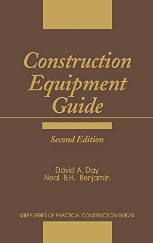 9780471888406: Construction Equipment Guide (Wiley Series of Practical Construction Guides)