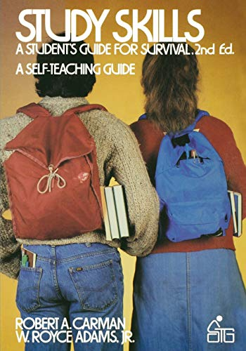 9780471889113: Study Skills: A Student's Guide to Survival