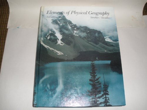 9780471889731: Elements of Physical Geography