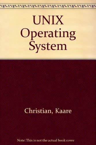 9780471890522: UNIX Operating System