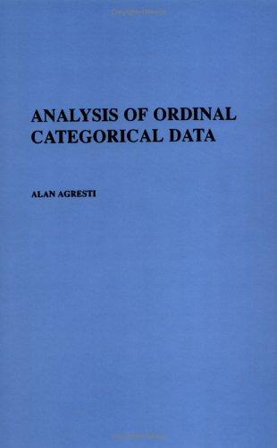 9780471890553: Analysis of Ordinal Categorical Data