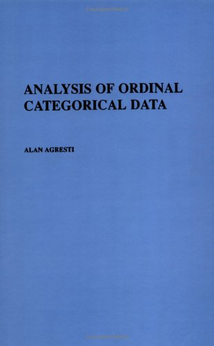 9780471890553: Analysis of Ordinal Categorical Data (Wiley Series in Probability and Statistics)
