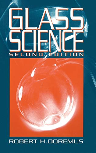 9780471891741: Glass Science, 2nd Edition