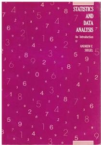 9780471891864: Statistics and Data Analysis: An Introduction