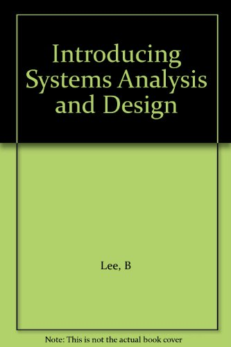 9780471894063: Introducing Systems Analysis and Design