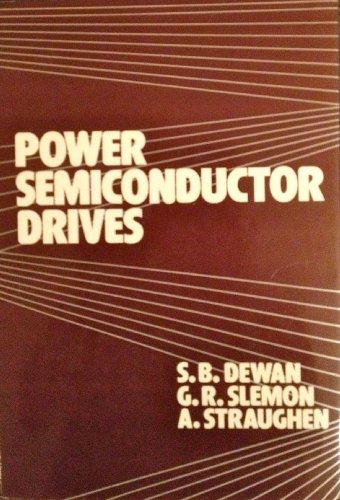 9780471898313: Power Semiconductor Drives
