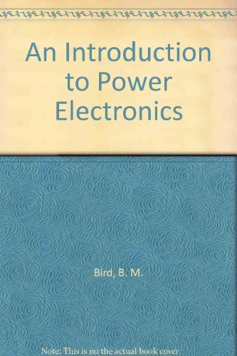 9780471900511: Power Electronics