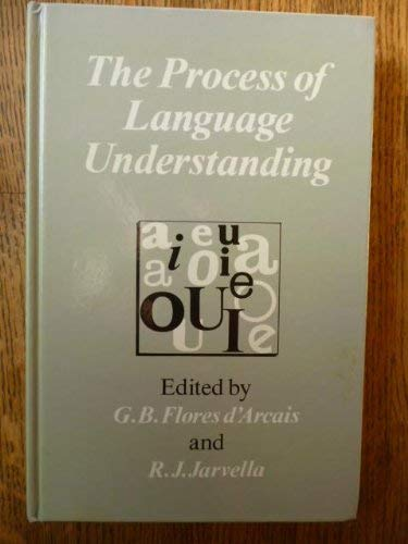 9780471901297: The Process of Language Understanding