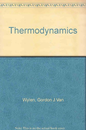9780471902249: Van Wylen Thermodynamics