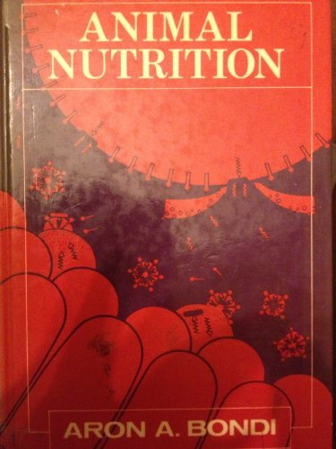 9780471903758: Animal Nutrition (English and Hebrew Edition)