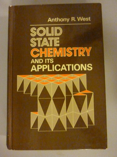 9780471903772: Solid State Chemistry and Its Applications
