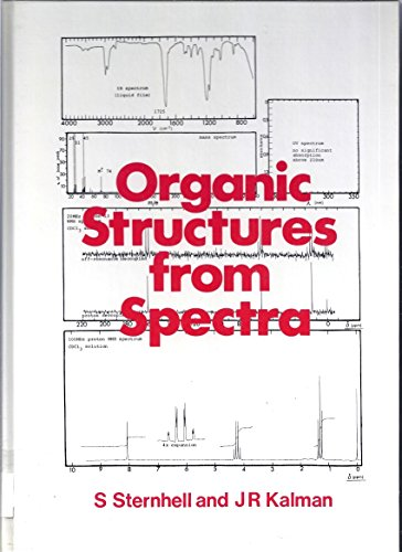 9780471906445: Organic Structures from Spectra