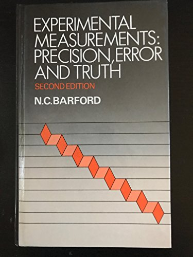 9780471907015: Experimental Measurements: Precision, Error and Truth