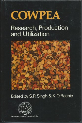 9780471908029: Cowpea Research, Production, and Utilization