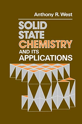 9780471908746: Solid State Chemistry   its Applications