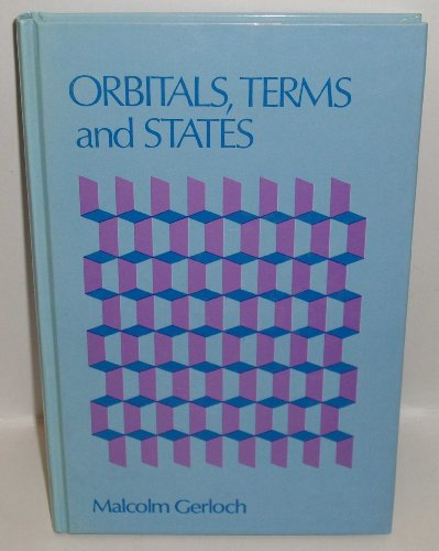 9780471909354: Orbitals, Terms and States