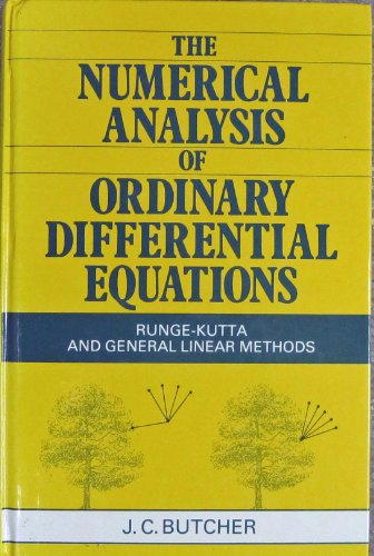 9780471910466: The Numerical Analysis of Ordinary Differential Equations: Runge-Kutta and General Linear Methods