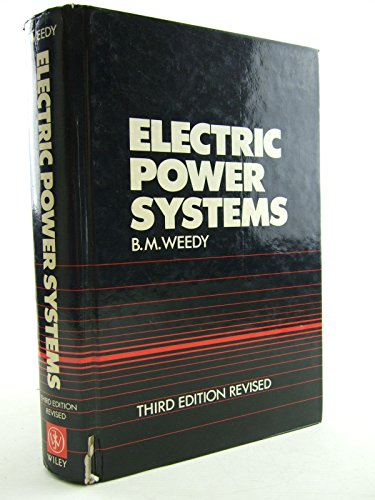9780471916598: Electric Power Systems, 3rd Edition