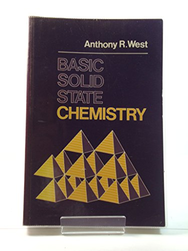 9780471917984: WIE Basic Solid State Chemistry Abridged
