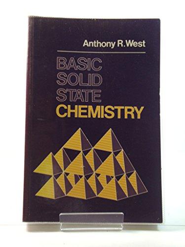 9780471917984: WIE Basic Solid State Chemistry Abridged