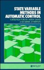 9780471918776: State Variable Methods in Automatic Control