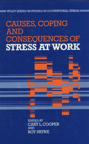 9780471918790: Causes, Coping and Consequences of Stress at Work (Studies in occupational stress)