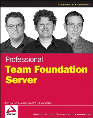 9780471919308: Professional Team Foundation Server