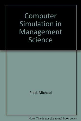 9780471919315: Computer Simulation in Management Science