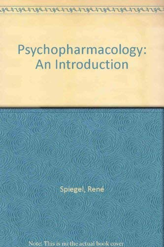 9780471920441: Psychopharmacology: An Introduction (A Wiley medical publication)