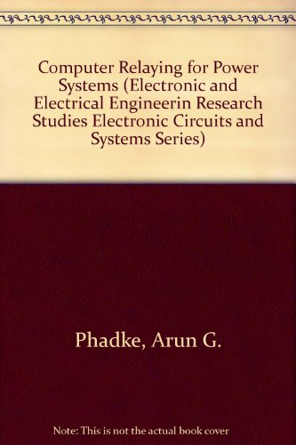9780471920632: Computer Relaying for Power Systems (Electronic and Electrical Engineering Research Studies: Lines and Cables for Power Transmission Series)