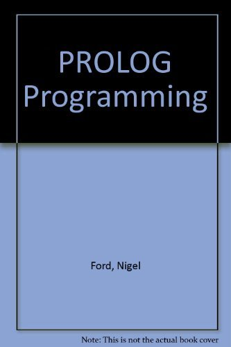 PROLOG Programming: Ford, Nigel