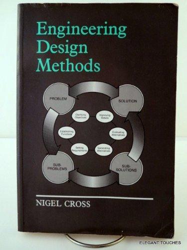 9780471922155: Engineering Design Methods