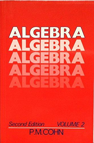 9780471922353: Algebra: v.2