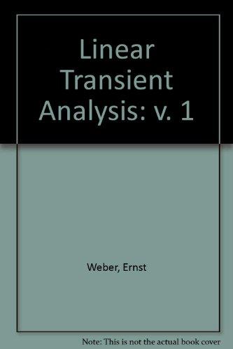 9780471924005: Linear Transient Analysis: Vol. I: Lumped-Parameter/ Vol. 2:Terminal Networks (v. 1)