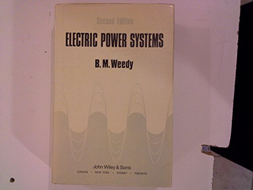 9780471924456: Electric Power Systems
