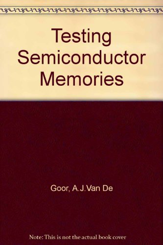 9780471925866: Testing Semiconductor Memories: Theory and Practice