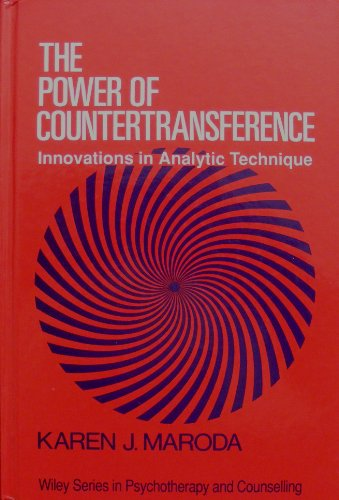 9780471926269: The Power of Countertransference: Innovations in Analytic Technique (Wiley Series in Psychotherapy and Counselling)