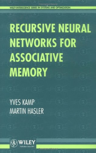 9780471928669: Recursive Neural Networks for Associative Memory