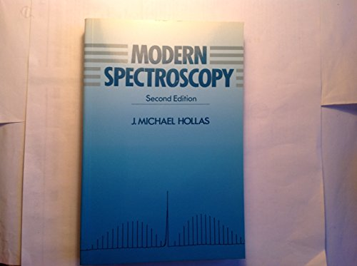9780471930778: Modern Spectroscopy