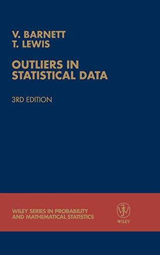 9780471930945: Outliers in Statistical Data
