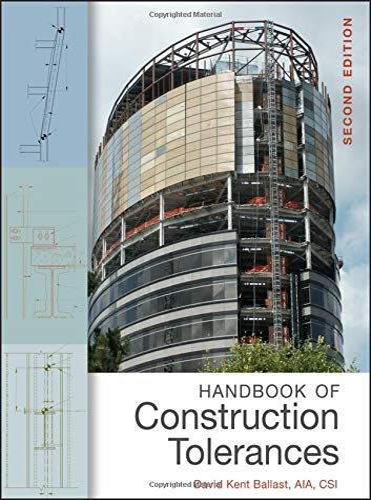 9780471931515: Handbook of Construction Tolerances