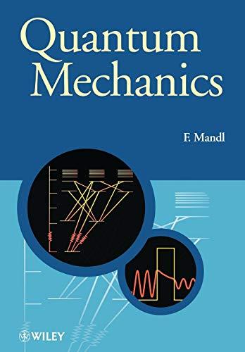 9780471931553: Quantum Mechanics (Manchester Physics Series)