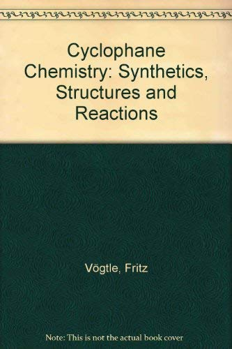 9780471931997: Cyclophane Chemistry: Synthesis, Structures and Reactions