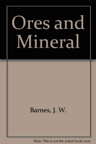 9780471932031: Ores and Minerals: Introducing Economic Geology