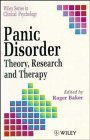 9780471933175: Panic Disorder: Theory, Research and Therapy (Wiley Series in Clinical Psychology)