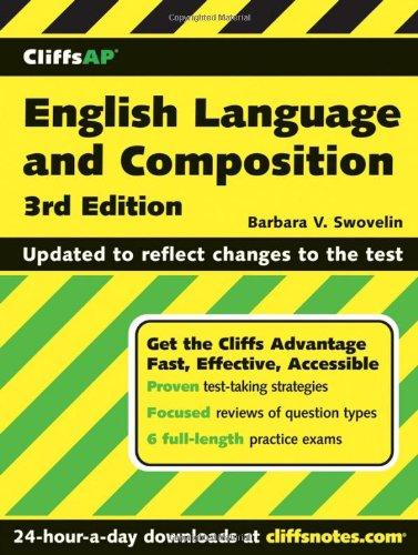 9780471933687: CliffsAP English Language and Composition